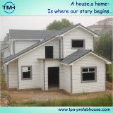 Casa prefabricada de cuatro dormitorios en el campo