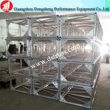 Braguero de aluminio de la iluminación del braguero de la etapa del tornillo