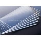 Panel de 1 mm de espesor de acrílico de materiales de construcción