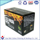 Impresa de papel corrugado cartón