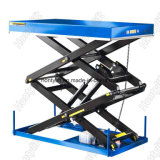 Piccoli stazionari idraulici Scissor la Tabella di elevatore del magazzino