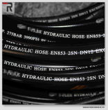 RubberIndustrie van de Slang van DIN 2sn Hydraulische Rubber