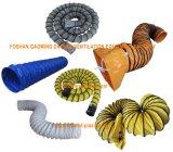Bewegliches Abgas-Ventilations-Flügelradgebläse mit flexibler Luft-Kanalisierung
