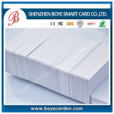 オーバーレイが付いている印刷できるRFID Cr80 PVCブランク白いカード