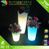 Colore della decorazione del partito di evento di cerimonia nuziale che cambia il POT di fiore del LED