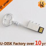 주문 Laser 조각 로고 금속 키 USB 지팡이 (YT-3230L)