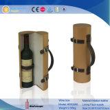 Solo rectángulo portable del vino de la botella (5500)