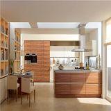 Gabinete de cozinha moderno da madeira de carvalho do estilo