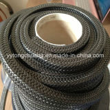 Graphiteの黒いPTFE Braided Packing
