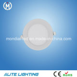 CE RoHS Approved 3W 6W 9W 12W 15W 18W 24W Round DEL Panel