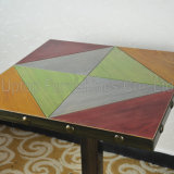 Antique nero Nail Table per Restaurant su Sale (SP-RT465)