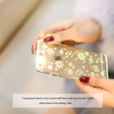 iPhone 6のためのSellingの熱いパソコンMaterial Flashing Lights Mobile Phone Case