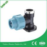 PPは管付属品PPの圧縮の付属品のナイロン管付属品に通した