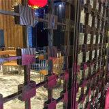 Panneau fait sur commande de haute qualité de coupure de laser d'acier inoxydable de constructeur d'écran en métal pour des hôtels