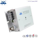1つのモニタによって結合されるサージサプレッサーSPDに付きCCTVのカメラ3つ