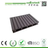 Anti-Slid Grooves Outdoor Composite Deck Floor para Varanda