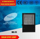 Aluminiumlampen-Karosserien-Solarflut-Licht mit 2 Jahren Garantie-