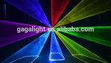 Lumière laser polychrome de l'animation RGB28000