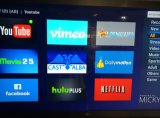 Noyau androïde de quadruple, boîte hybride de DVB-S2+DVB-T2+IPTV