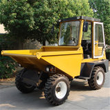 dumper concret diesel de 3tons 4WD mini avec la carlingue (SD30)