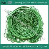Красный набор ассортимента кольца уплотнения колцеобразного уплотнения силиконовой резины