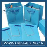 Rosafarbener Fastfood- Packpapier-Beutel (DM-GPBB-143)