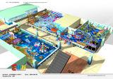Constructeur professionnel de matériel d'intérieur orienté de cour de jeu d'océan