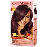 10 Minutes Speedshine Permanent Couleur des cheveux Crème Acajou