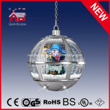 Silbernes Round Hanging Lamp Christmas Gifts mit LED Lights