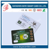 Microplaqueta em branco do PVC Cr80 e smart card do Pin