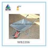Wheelbarrow resistente da construção
