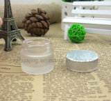 小型5g 10g 15g 20g All Size Round Frosted Cosmetic Cream Glass Jar