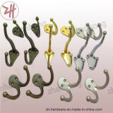 Zink Alloy Beautiful Design Double Clothes und Cat Hooks (ZH-3002)