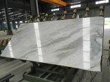 Galette de marbre d'Arabescato Venato pour la partie supérieure du comptoir ou le plancher