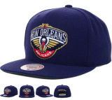 Flat Brim Baseball Hat Snap Back Sport Cap