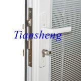 Porta francesa de alumínio de porta de balanço do dobro da porta de entrada