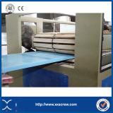 Chaîne de production en plastique en bois de panneau boudineuse à vis de jumeau (séries de SJSZ)