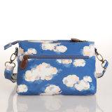(99199) Ciel bleu peignant les sacs d'épaule imperméables à l'eau de toile