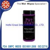 Animal de estimação descartável que banha Wipes anti-baterianos do animal de estimação dos tecidos molhados da limpeza