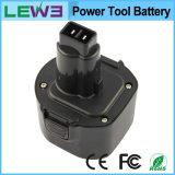 De9036 9.6V 3.0ah Ni-MH Portable Power Tool Battery pour Dewalt