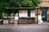 Abrigo de la parada de autobús del acero inoxidable (HS-BS-A006)