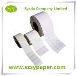 Papier pour étiquettes auto-adhésif thermique imperméable à l'eau
