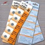 3Vリチウムボタンのセル電池Cr1620