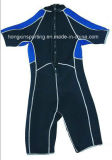 Wetsuit de Shorty do neopreno dos homens (HX-S0102)