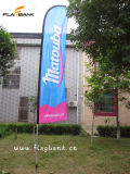 3.4m Event Promotion Aluminium Portable Feather Flag/Flying Flag
