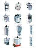 Double pompe à engrenages hydraulique avec la pompe de pétrole duplex