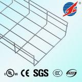 Chemin de câbles galvanisé solide de maille de fil d'acier