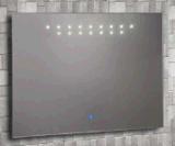 2016 de Moderne Spiegel van de Badkamers van het Frame van de Hoek met leiden (lz-008)