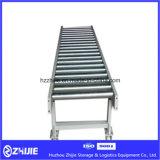 Fabrik-Preis-Schwerkraft-bewegliche Rollen-Förderanlage für Karton/Ladeplatte/Tellersegment/Lager