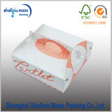 Розовая коробка прядильного кулича печатание бумаги карточки (QY150399)